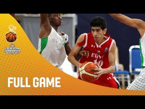 Madagascar v Egypt - Full Game - FIBA U16 African Championship 2017