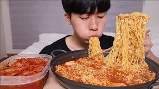 🔥🔥뜨끈한 열라면3봉지🔥🔥 김치 먹방 ! ! ! ㆍMUKBANG SPICY RAMEN & KIMCH ASMR EATING SHOW