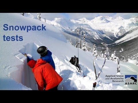 Snowpack tests