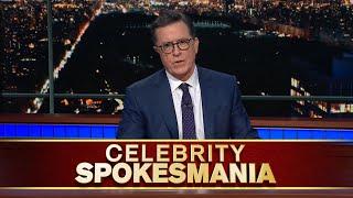 Late Show's Celebrity Spokesmania