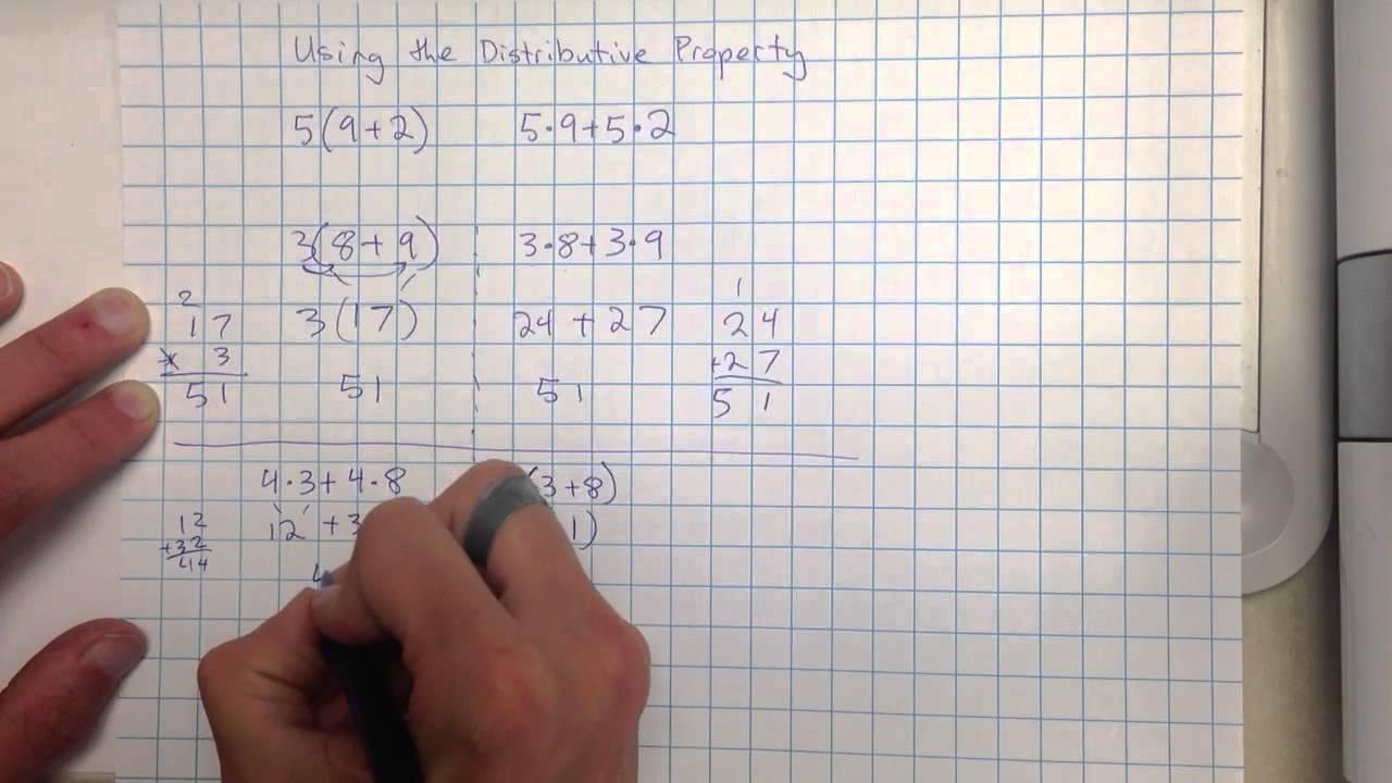 distributive property equivalent expressions worksheet