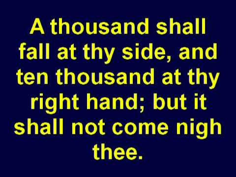 Psalm 91  Gods Protection For You  Holy Bible  Christian Scripture   KJV