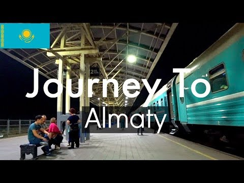 Astana to Almaty Kazakhstan Train Ride
