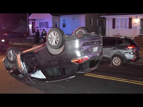 Clifton PD: DWI Driver Flips SUV, Tries To Flee