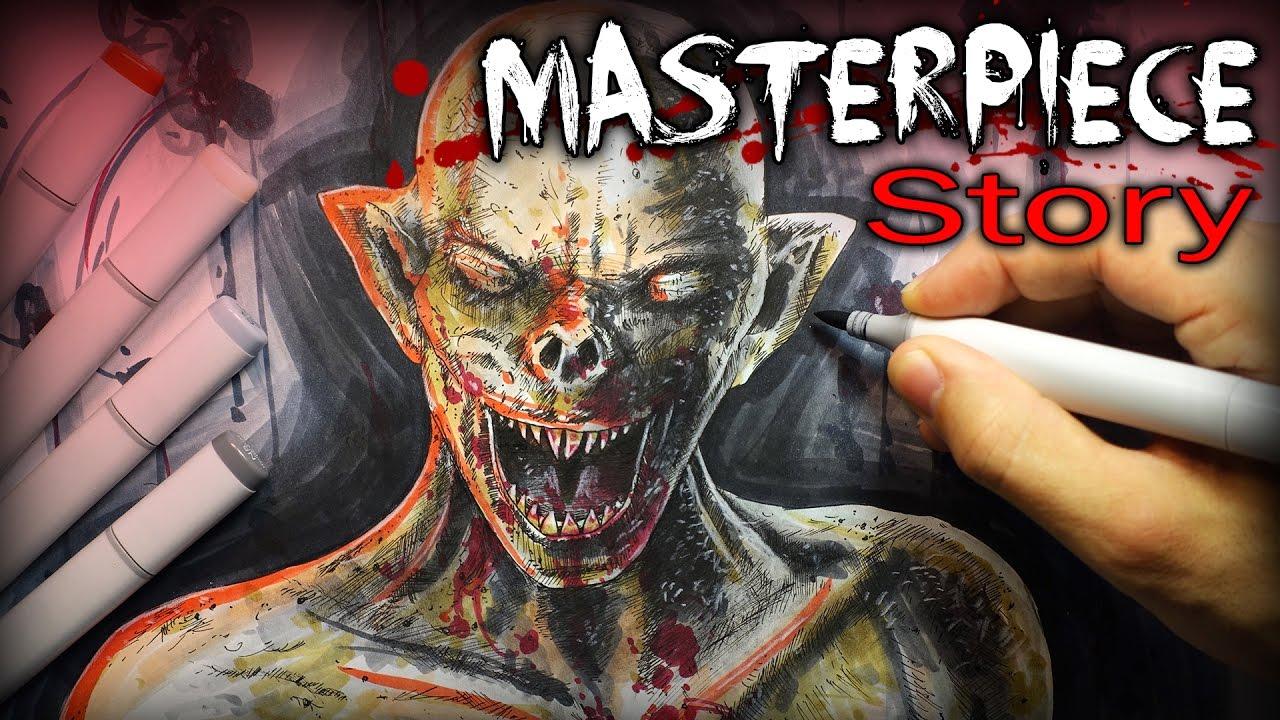 masterpiece story creepypasta drawing youtube