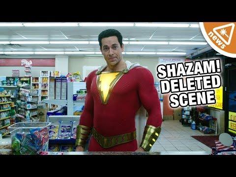 Shazam's Deleted Scene Teases Black Adam! (Nerdist News w/ Amy Vorpahl)