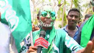 Reaction of Public from BJD Party Office
