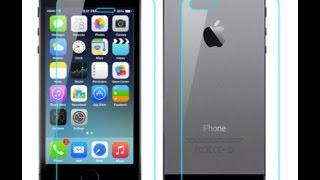 Про защитные стекла на iPhone