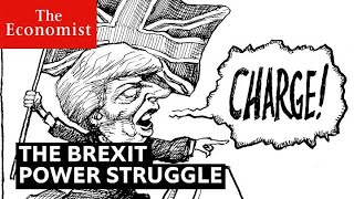 Theresa May's Brexit power struggle, cartooned | The Economist