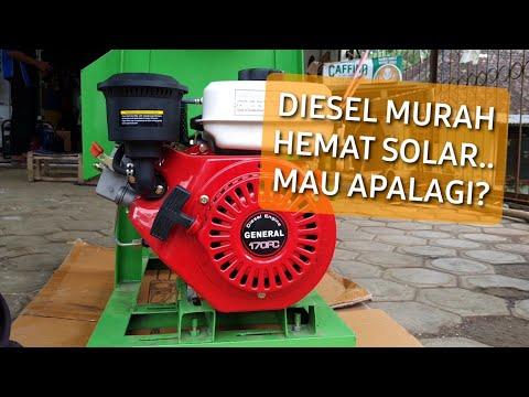 Diesel solar kecil ringan cocok untuk mesin irigasi, cultivator dan traktor mini