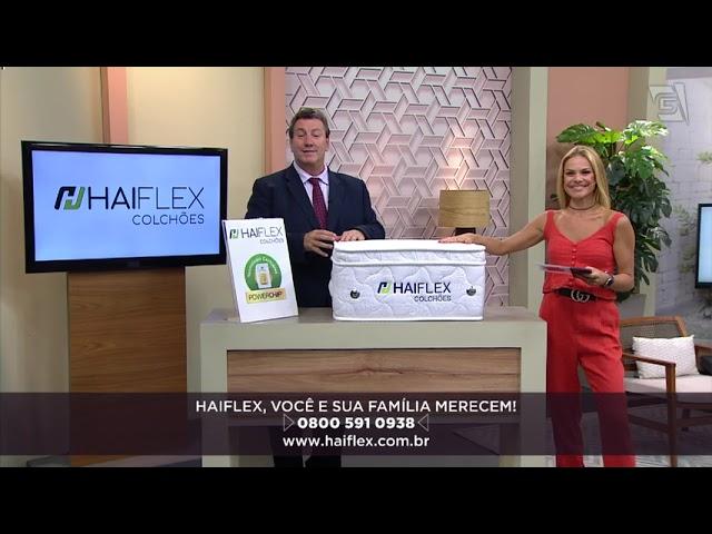 Colchão Tecnológico Haiflex no programa Você Bonita - Gazeta