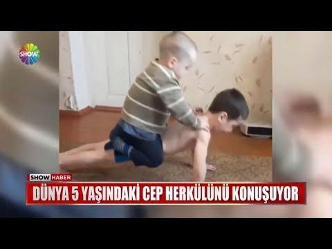 Dünya 5 yaşındaki cep herkülünü konuşuyor