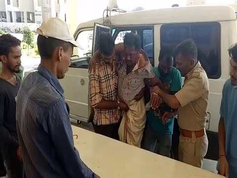 Today in Devaliya Safari park lion attacked two labours