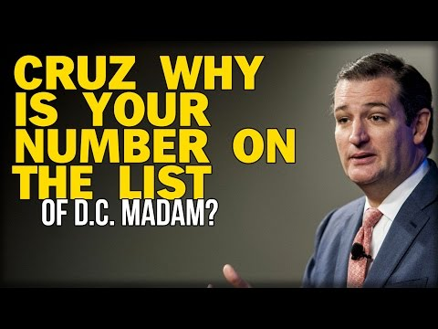 IS TED CRUZ'S NUMBER IN THE D.C. MADAM'S PHONE RECORDS?
