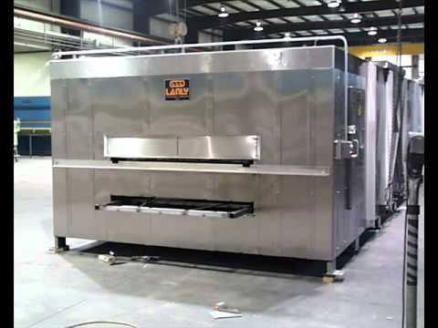 Lanly Industrial Ovens and Dryers for Food Processing Applications