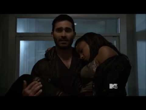 Draeden Love Scene ☁ Teen Wolf (4x08) ☽ All Derek Hale ...