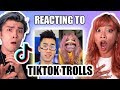 REACTING TO OUR HATERS ON TIKTOK!!