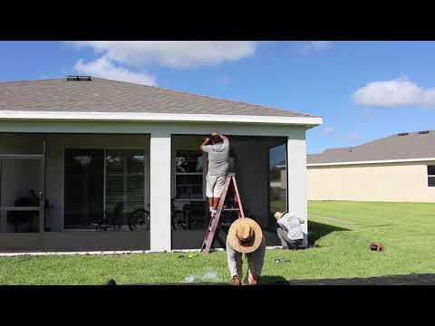 New Lanai/Porch Screen Enclosure Installation - Lakewood Ranch / Bradenton, FL