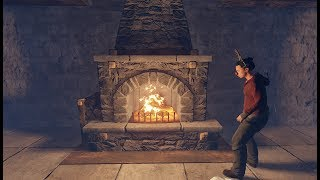 Rust - Камин в игре! Первый взгляд!