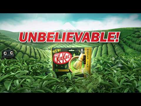 KITKAT Green Tea: Press Pause To Catch The Kaiju!