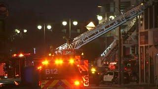 Incendie à Los Angeles: les pompiers poursuivent leur travail | AFP Images