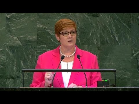 🇦🇺 Australia - Minister for Foreign Affairs Addresses General Debate, 73rd Session