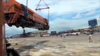 EMD GT46C-ACe Locomotive Dropped on Delivery