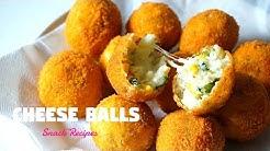 Cheese Balls   Cheesy Snacks   Ramadan Recipes