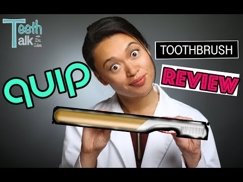 QUIP Toothbrush UNBOXING and REVIEW by an unbiased dentist
