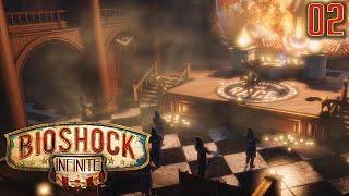 "Bioshock Infinite Gameplay Walkthrough Part 2 - ""KROW KLUX KLAN MEETING!!!"" 1080p HD PC"