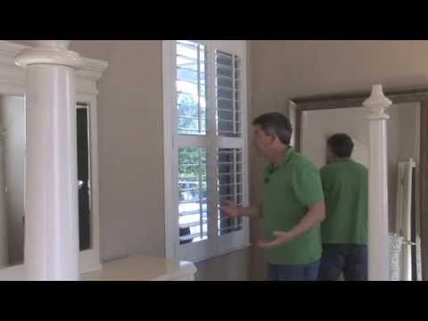 How to install plantation shutters in your windows to enhance the
