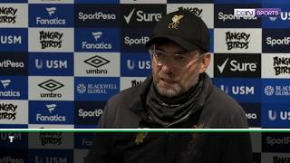 Klopp gets irritated and tells reporter that they are not playing Playstation