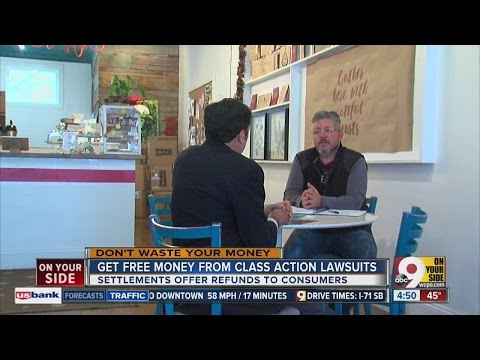 Get free money from class-action lawsuits