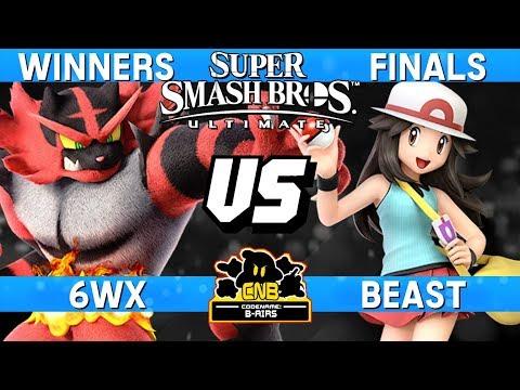 Smash Ultimate Tournament Winners Finals - 6WX (Incineroar) vs Beast (Pokemon Trainer) - CNB 175 thumbnail