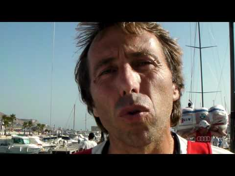 Philippe Mourniac revient sur la première journée de course à Cartagena
