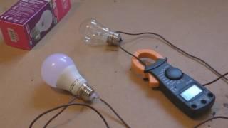 Ток потребления светодиодной лампочки LED(, 2016-05-15T11:08:08.000Z)