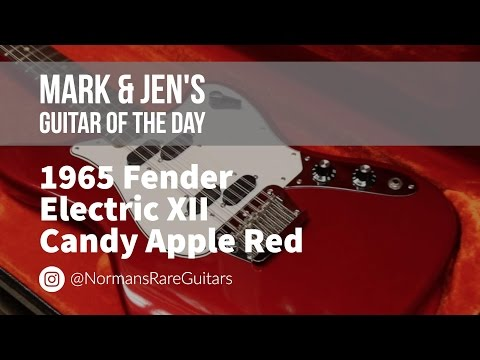 Norman's Rare Guitars – Guitar of the Day: 1965 Fender Electric XII