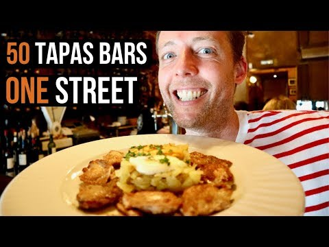 7 Best Tapas Bars On Cava Baja  | Madrid's Most Famous Tapas Street