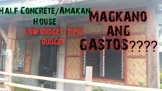 Low Budget Amakan| Half Concrete House| Comfortable House