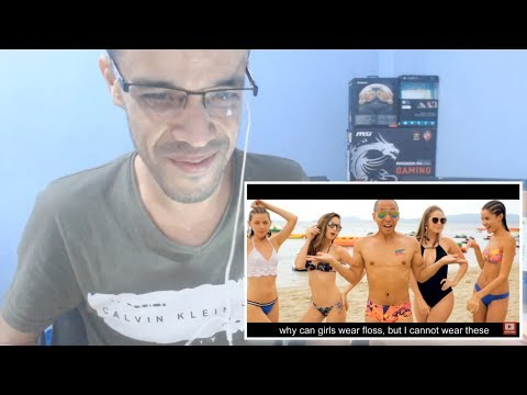 I Wear Speedos | DESPACITO PARODY (Luis Fonsi ft.Daddy Yankee) ||REACTION|| جزائري