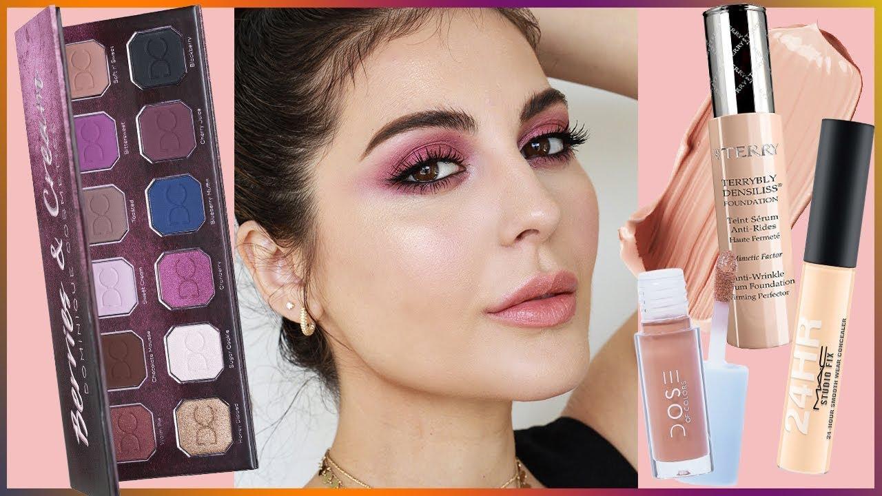 Cranberry Fall Makeup Tutorial   Sona Gasparian 2018 - YouTube