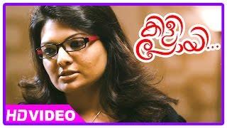 Kilipoyi malayalam movie | asif ali at sandhra's home |  aju varghese