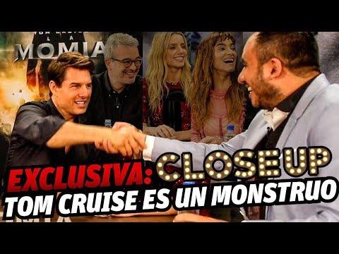 Entrevista: Tom Cruise... La Momia inicia era de monstruos en cine