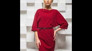 Как сшить модное теплое платье(Как сшить модное теплое платье быстро и без выкройки показано в этом видео. Посмотрите и принимайтесь за..., 2016-02-07T13:58:43.000Z)