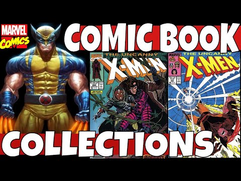 X-MEN Comic Book Collection Part 2 - Marvel Comics - Bronze Age And Modern Age Key Comics