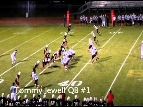 Tommy Jewell QB #1 Highland High School