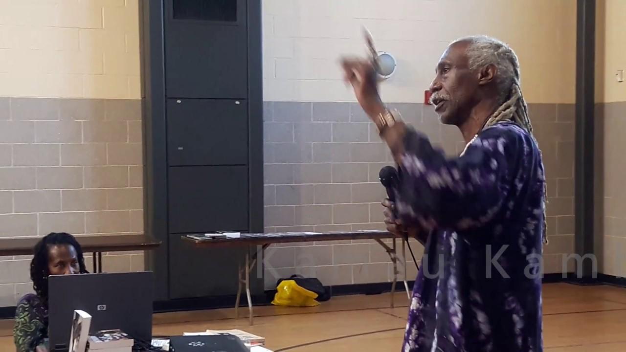 Dr. Kamau Kambon Warrior Elder, Author, Pan-Afrikan, Solutionary