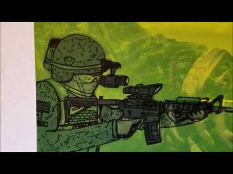 Painting Gallery 3: Military Stuff