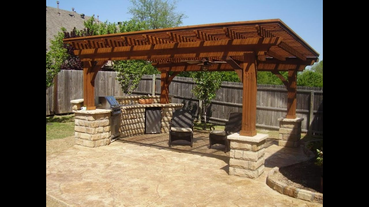 Nice Backyard Patio Ideas   Backyard Patio Ideas Pinterest   YouTube