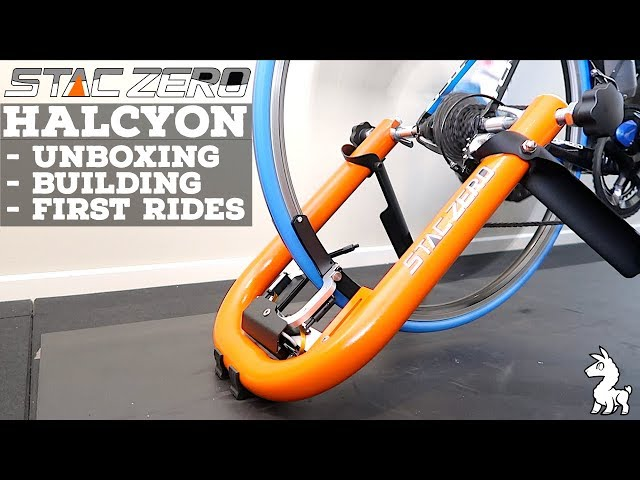 STAC Zero Halcyon Smart Trainer: Unboxing // Building // First Rides